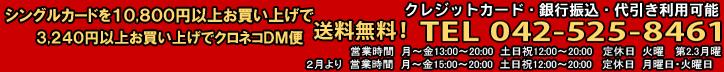 �V���O���J�[�h��10,800�~�ȏエ�����グ�ő�������!�|�C���g3%�Ҍ���! TEL042-525-8461
